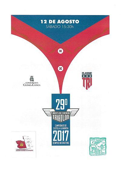 Clasificaciones del XXIX Triatlón de Cuenca