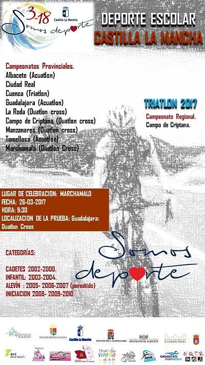 PUBLICADOS LOS DORSALES PARA EL PRÓXIMO PROVINCIAL DE DP.ESCOLAR