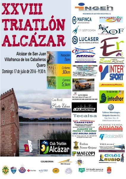 CERRADAS LAS INSCRIPCIONES PARA EL TRIATLÓN DE ALCAZAR DE SAN JUAN