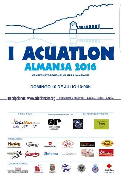 I ACUATLÓN DE ALMANSA - ABIERTAS LAS INSCRIPCIONESS