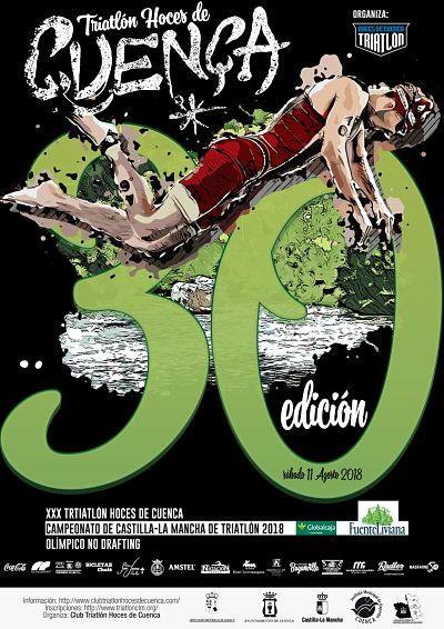 El próximo día 1 de mayo abren inscripciones el XXX Triatlón de Cuenca