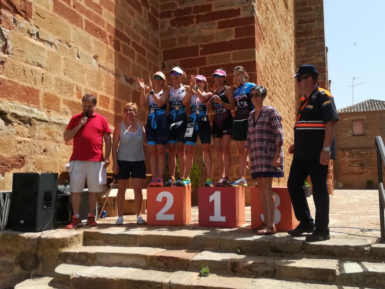 Alberto González y María Varo Campeones Regionales de Triatlón Sprint 2018