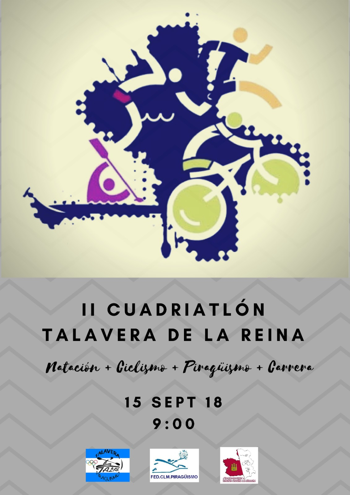 II Cuadriatlón Ciudad de Talavera