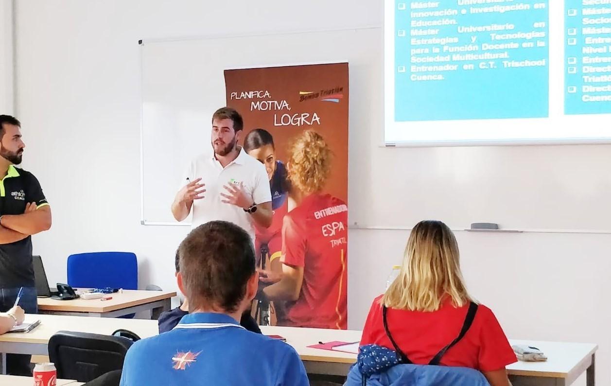 La Federación de Triatlón de Castilla la Mancha estuvo presente en las jornadas técnicas de triatlón en edad escolar 2018.