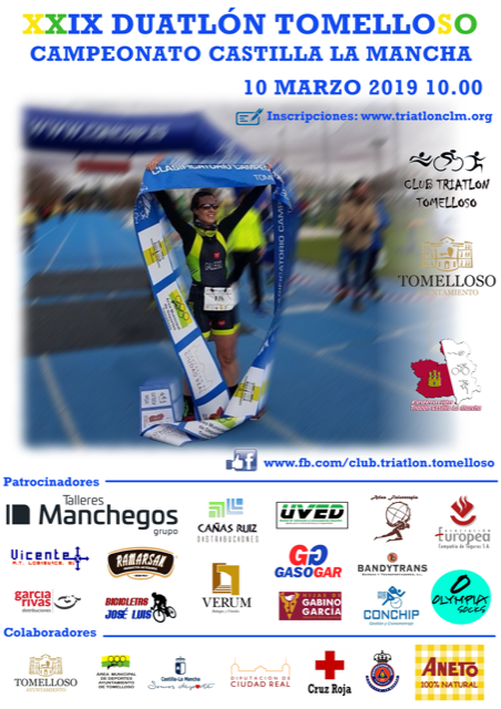 Publicadas las clasificaciones del Campeonato Regional de Duatlón