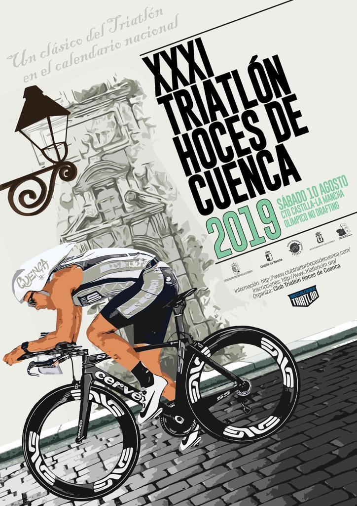 Abiertas inscripciones para el Triatlón Ciudad de Cuenca -- Campeonato Regional