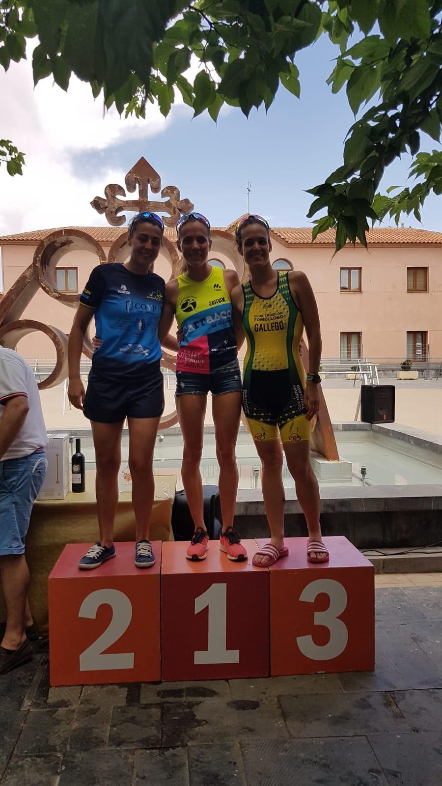 Publicadas las clasificaciones el Triatlón de Cozar- Olimpico  y Sprint