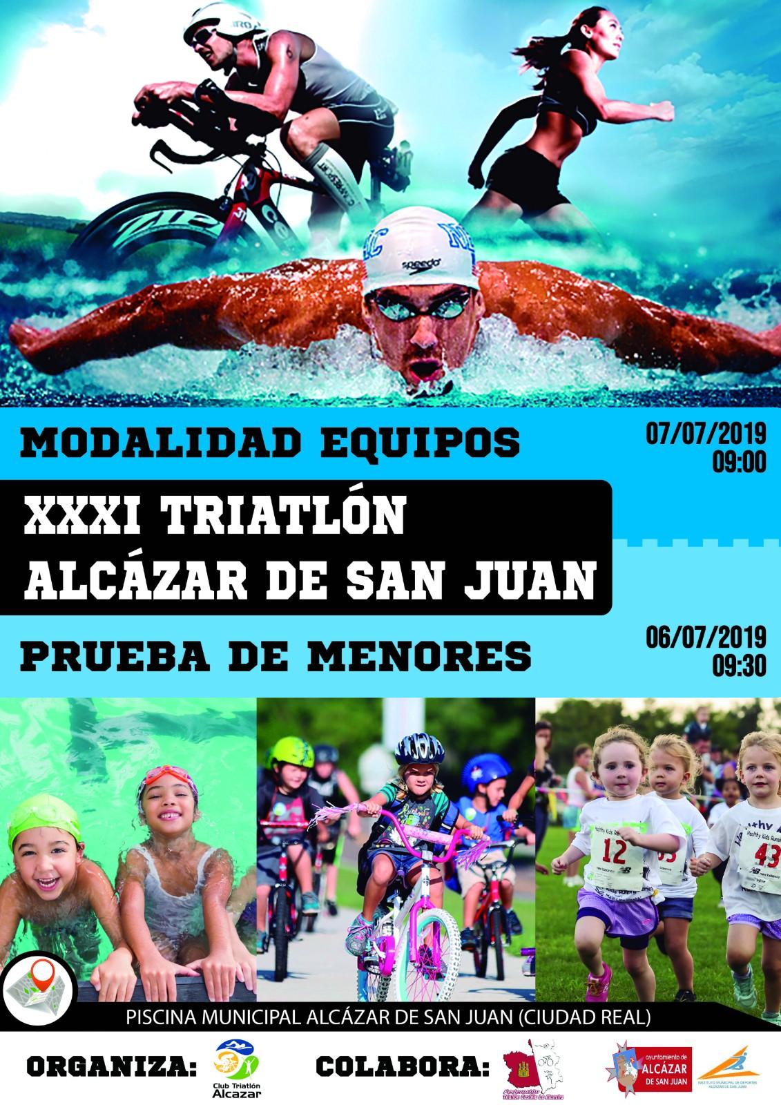 Suspendido el Triatlón por Equipos de Alcázar de San Juan