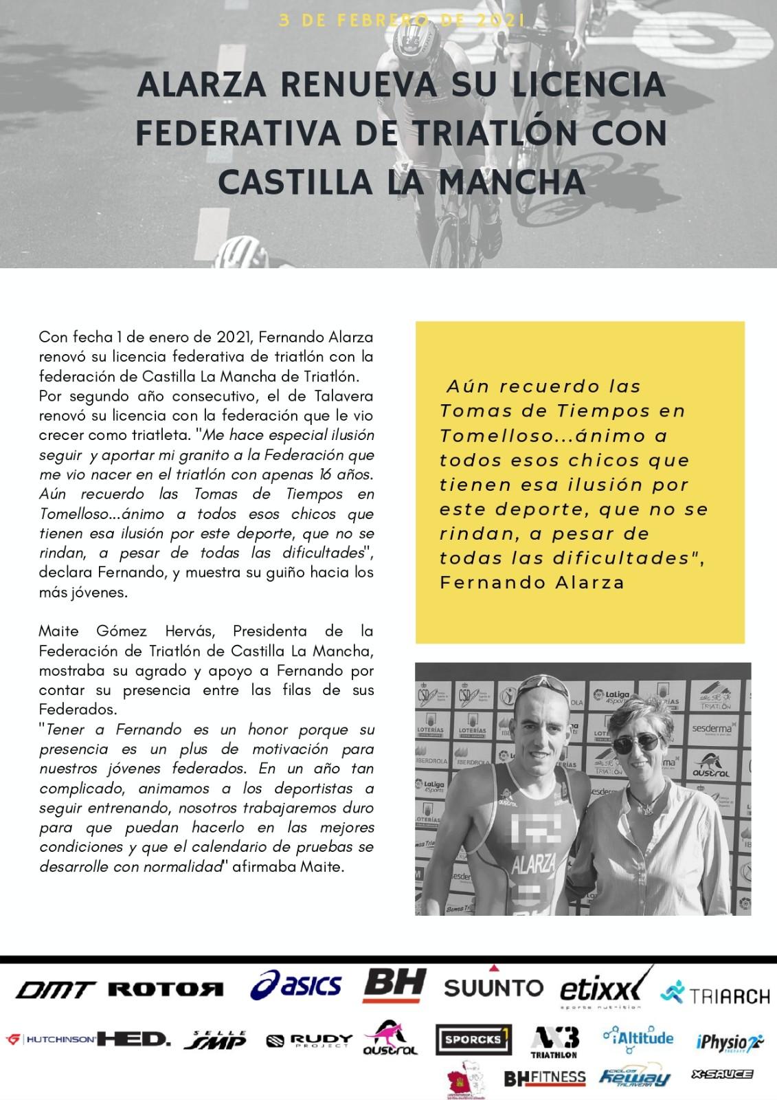 Alarza renueva con Castilla la Mancha 21