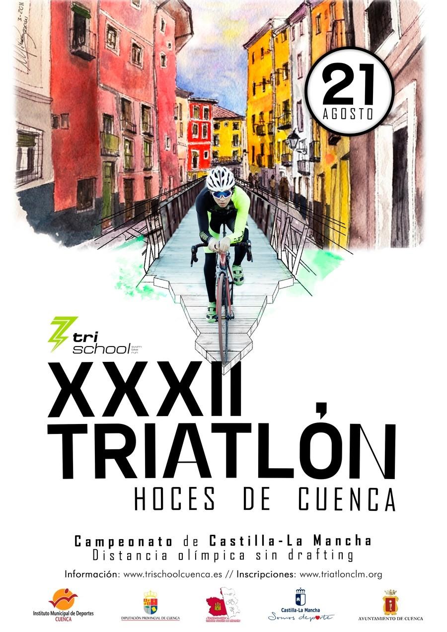 XXXII Triatlón De Cuenca 2021- Abre inscripciones el día 1 de julio