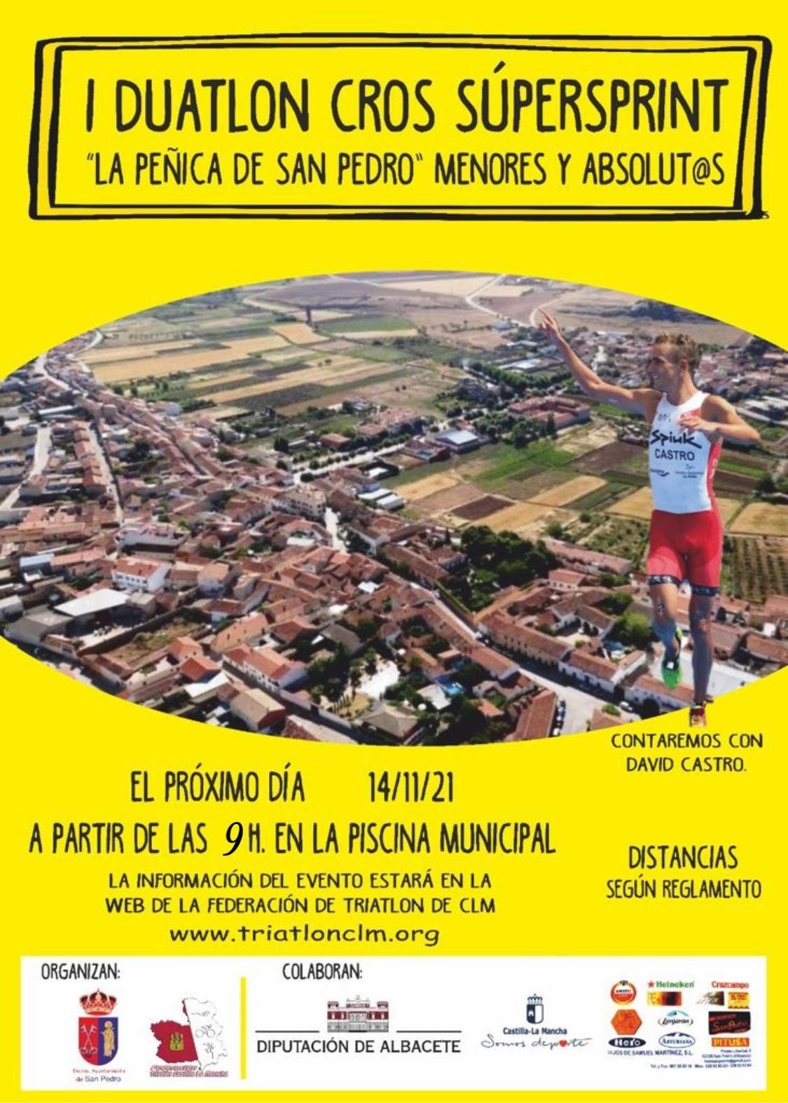 Apertura del I Duatlón La Peñica de San Pedro 21
