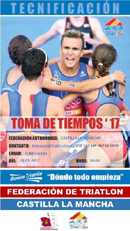 TOMA DE TIEMPOS - TOMELLOSO