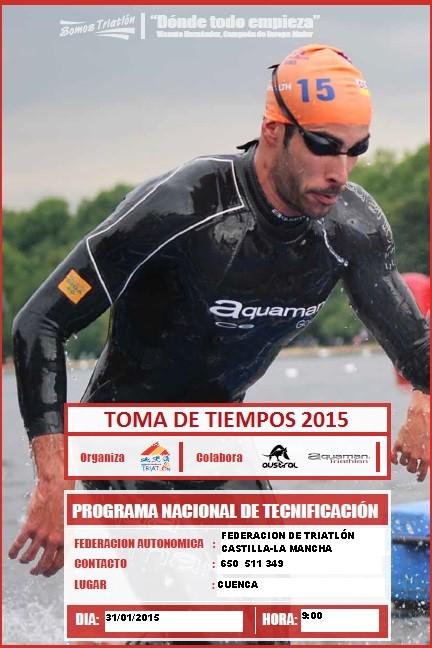 TOMA DE TIEMPOS - 2015