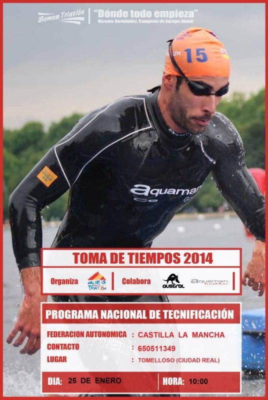 TOMA DE TIEMPOS 2014
